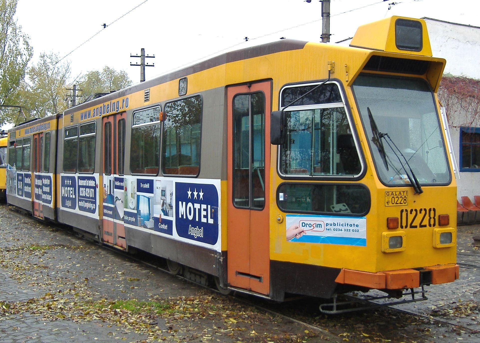 1263. Tram Duewag/Holec on line Dp November 17, 2007